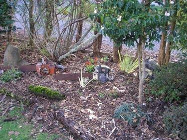 giardino tagliato.