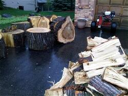 legna spaccata
