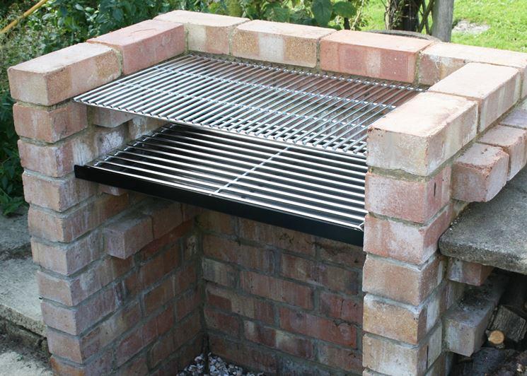 Barbecue in muratura a gas great fabulous giardino e in for Mattoni refrattari bricoman
