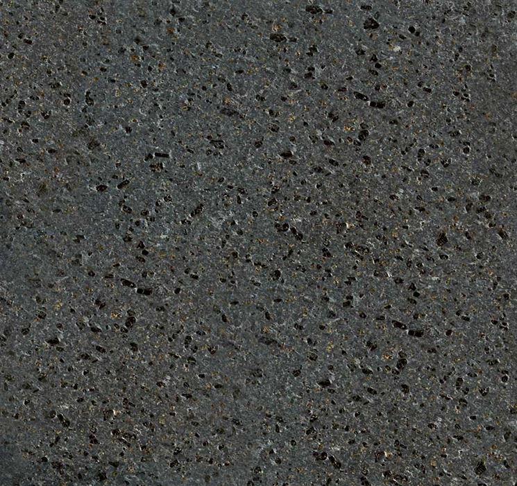 Pietra lavica vista da vicino