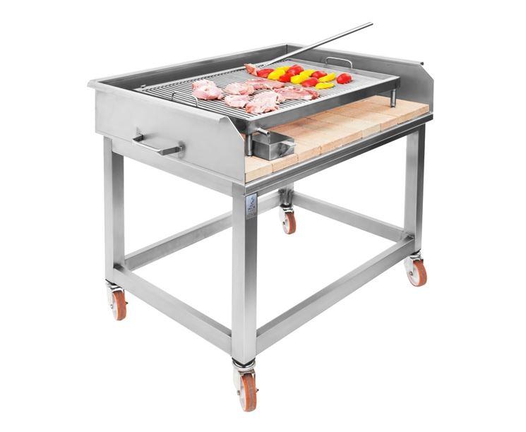 barbecue in acciaio barbecue realizzazione del. Black Bedroom Furniture Sets. Home Design Ideas