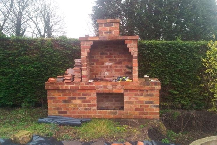 Casa moderna roma italy mattoni refrattari per barbecue for Barbecue in muratura fai da te