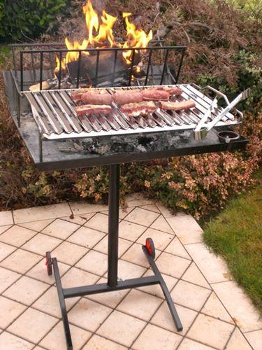 Barbecue in pietra ollare