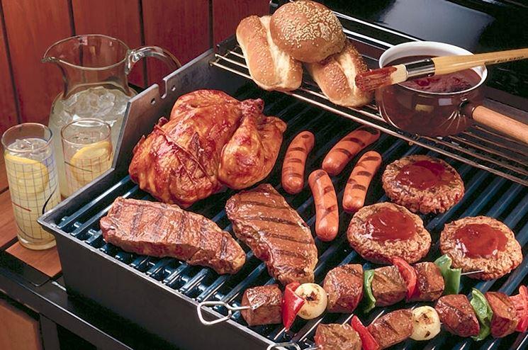 Carne cotta al barbecue