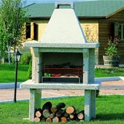 Barbecue prefabbricato