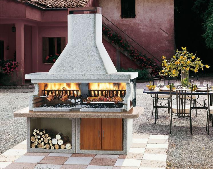 Casa immobiliare accessori prezzi barbecue prefabbricati for Barbecue in muratura obi