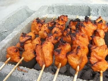 pollo barbecue.