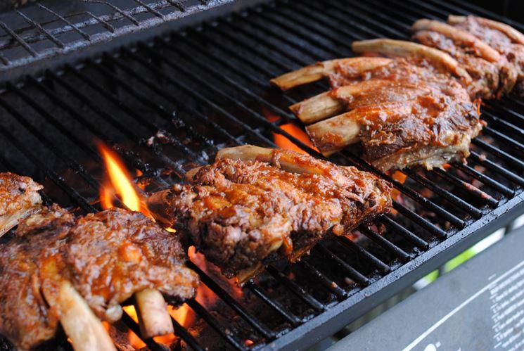 Grigliata di carne.