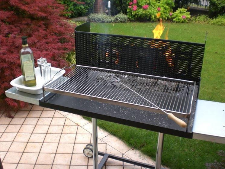 barbecue in ferro giardino