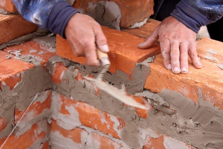 Realizzazione di un barbecue in muratura