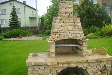 Uno splendido barbecue in muratura