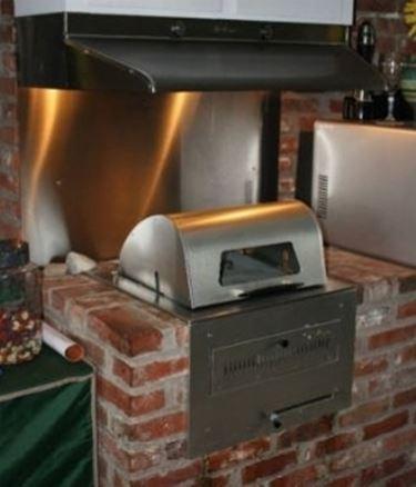 barbecue forno.