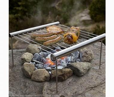 Griglia barbecue barbecue - Nascondere griglia giardino ...