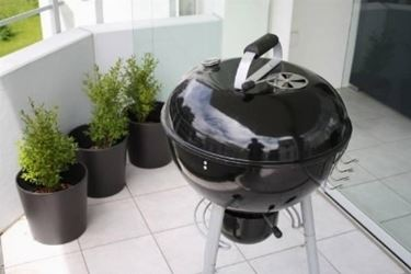 barbecue da balcone