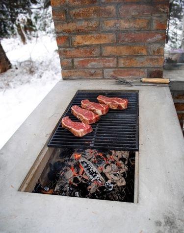 Griglia per barbecue esterno