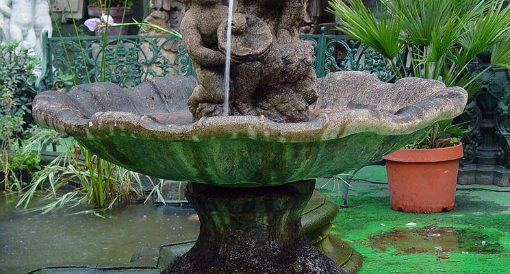 Fontana in stile barocco