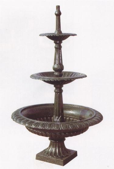 Esempio di fontane in ghisa