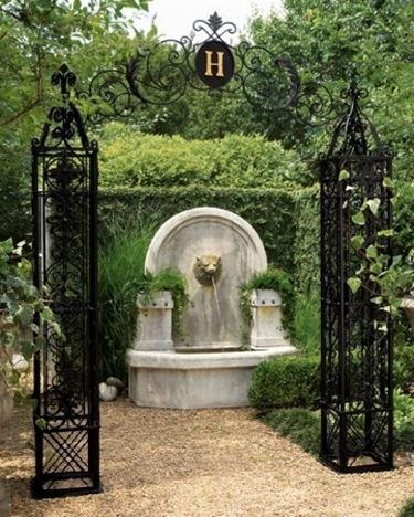 Esempio di fontana da Giardino