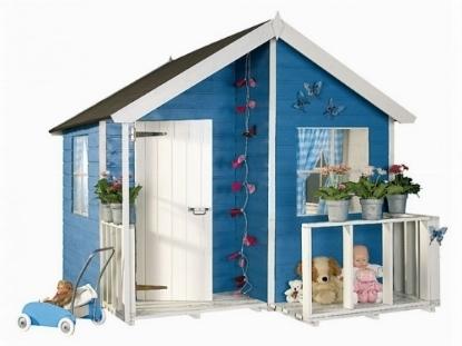 Casetta bambini giochi da giardino casette per bambini for Casa legno bambini