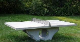 Tavolo ping pong giochi da giardino ping pong tavolo - Tavolo in pietra giardino ...