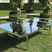 Tavolo ping pong giochi da giardino ping pong tavolo - Costruire tavolo ping pong ...