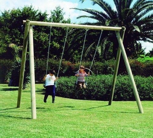 Vendita altalene giochi da giardino - Altalena da giardino in legno ...