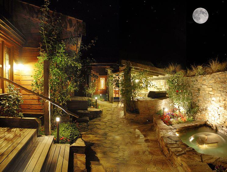 Illuminazione per giardini - Illuminazione giardino - Caratteristiche dell'illuminazione per ...