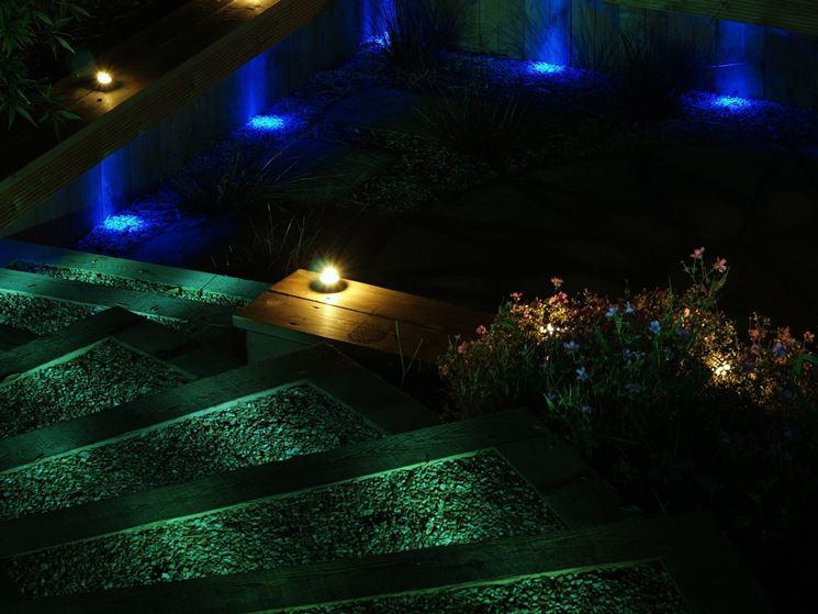 Illuminazione per giardini illuminazione giardino