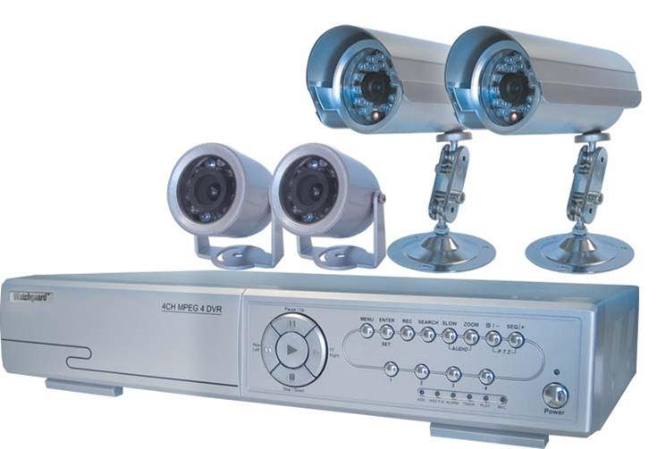Kit per la videosorveglianza con DVR e telecamere