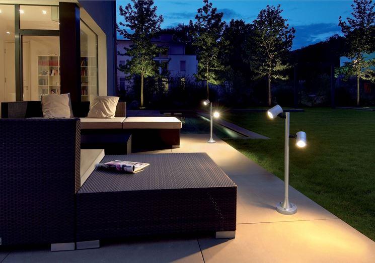 Lampade a led illuminazione giardino scegliere lampade a led