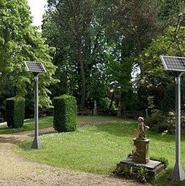 lampade in giardino