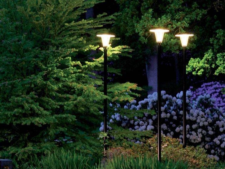 Luci da giardino   illuminazione giardino   illuminazione per il ...