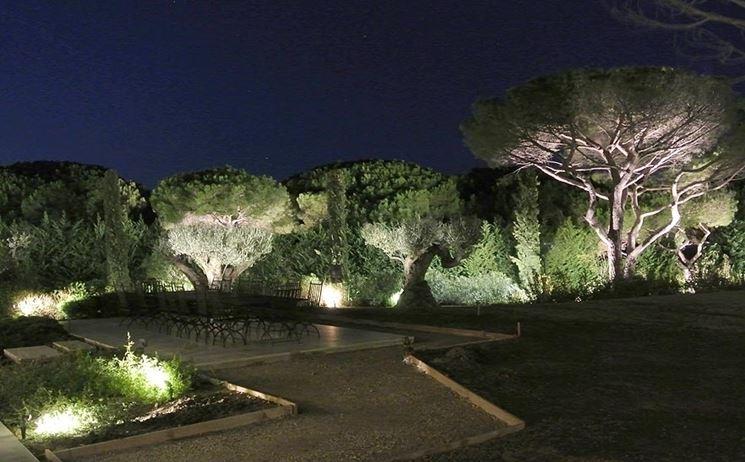 Luci da giardino illuminazione giardino illuminazione - Illuminare il giardino ...