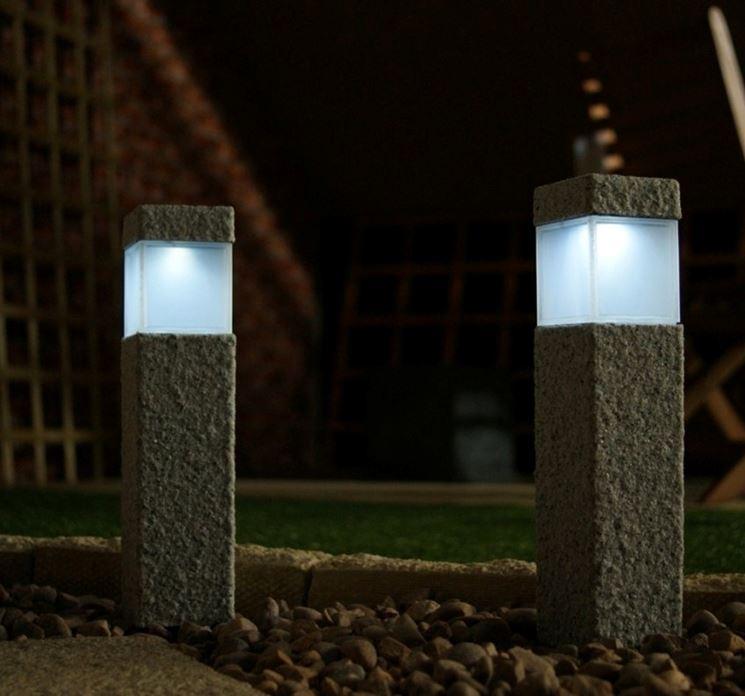 Luci per giardino illuminazione giardino illuminare il - Luci per giardino ...