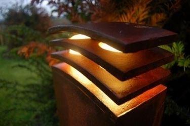 plafoniera in legno