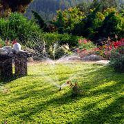 Impianto di irrigazione da giardino