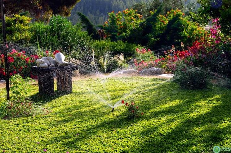 Impianto di irrigazione giardino - Impianto irrigazione - Irrigazione giardino