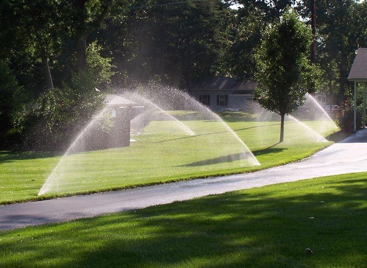 Un buon impianto di irrigazione