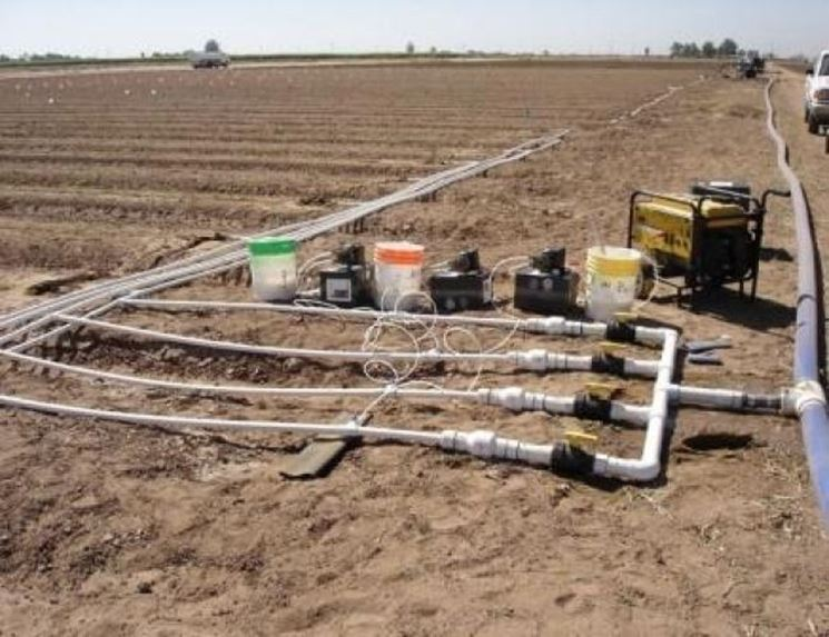microirrigazione a goccia impianto