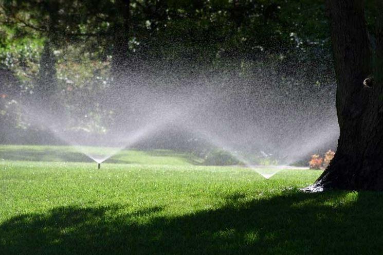 Impianto irrigazione giardini interrata