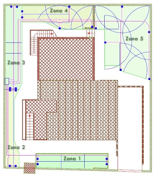 Irrigazione giardini impianto irrigazione come - Disegnare un giardino ...