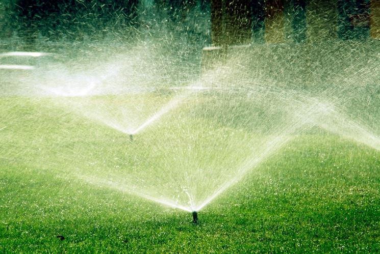 Irrigazione giardino - Impianto irrigazione - Sistema di irrigazione giardino