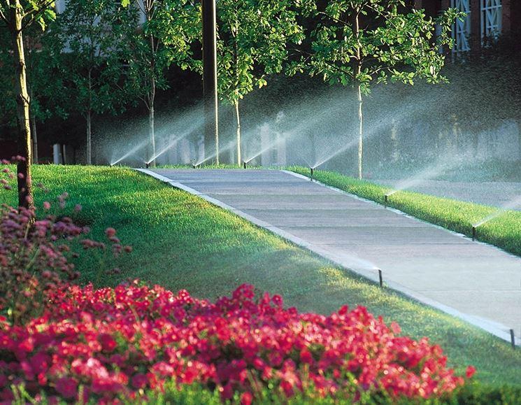 irrigazione giardino impianto irrigazione sistema di
