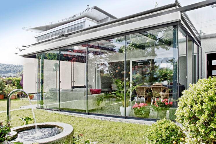 Copertura per veranda in stile moderno