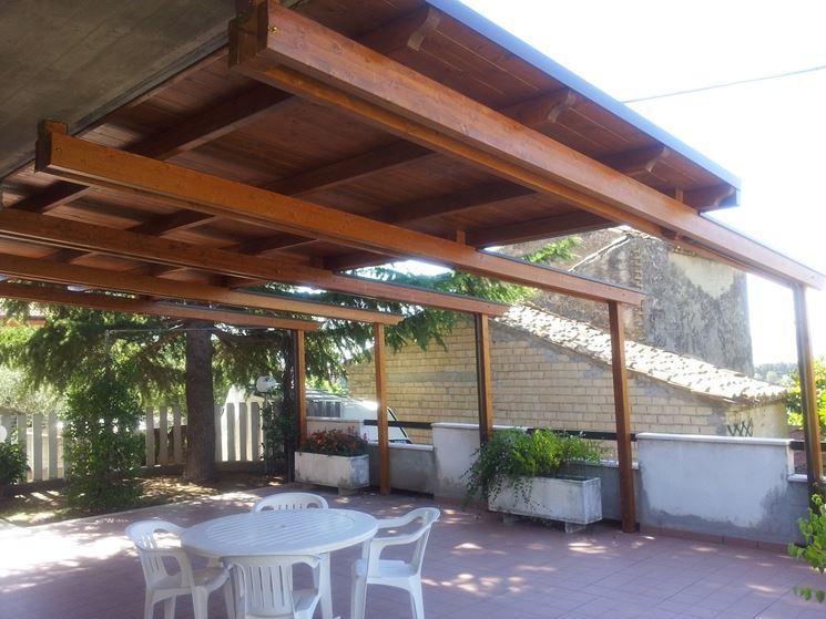 Copertura terrazzo in legno pergole e tettoie da for Piani di casa sotto 500 piedi quadrati