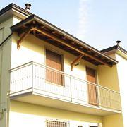 portico terrazzo legno