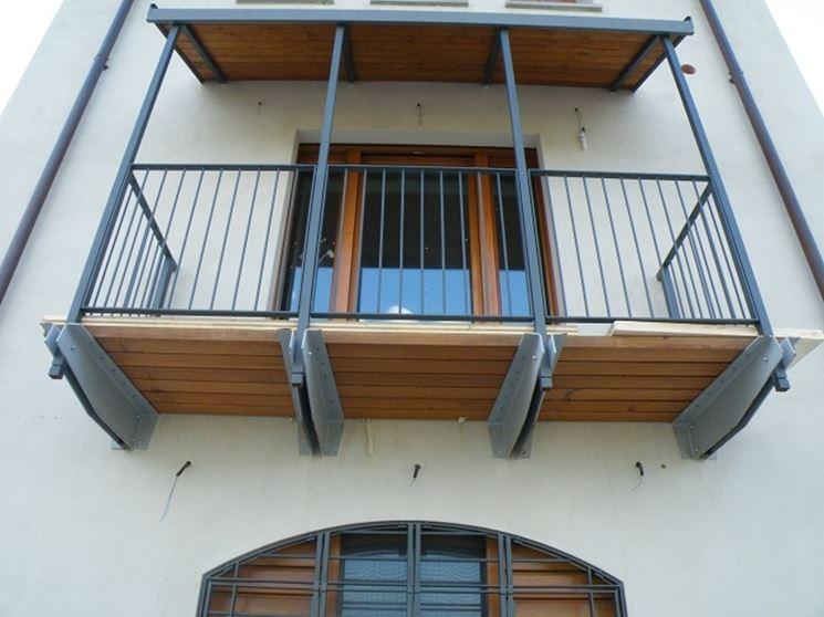 copertura balcone Bertero Mario