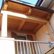 tettoia per terrazzo