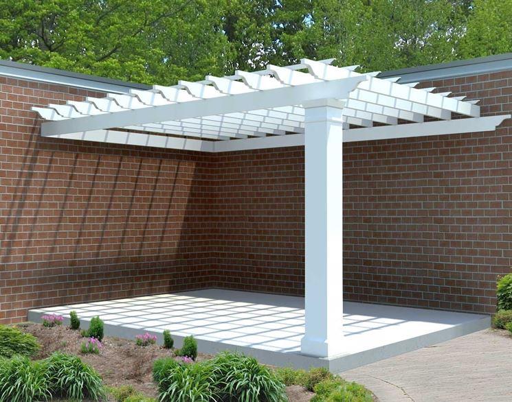 Coperture pergolati pergole e tettoie da giardino - Pergola da giardino ...