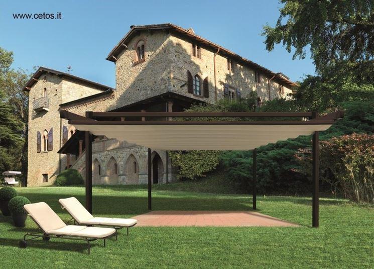 ... - Pergole e tettoie da giardino - Pensilina in policarbonato